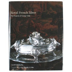 Sotheby's, Royal French Silver, the Property of George Ortiz
