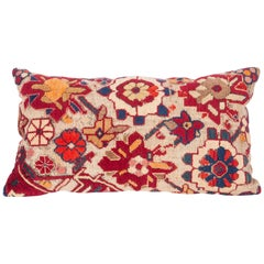 Antique Cushion / Pillow Case Fashioned from an Armenian Shusha Rug