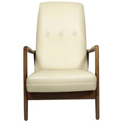 Armchair Model 829 by Gio Ponti, Cassina Italy, 1960