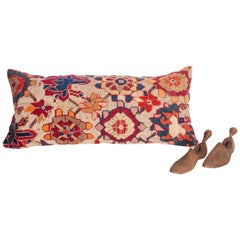 Antique Cushion or Pillow Case Fashioned from an Armenian Shusha Rug