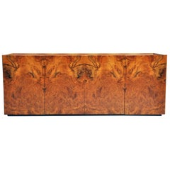 Walnut Burl Sideboard