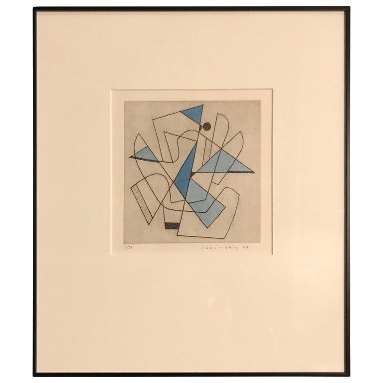 French Artist Jorj Morin, 20th Century For Sale