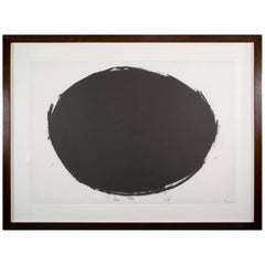 "Richard Serra Lithograph Titled ""Spoleto Circle"""