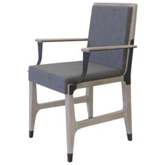 Constantine Dining Chair with Upholstered Back and Seat, by Mark Zeff