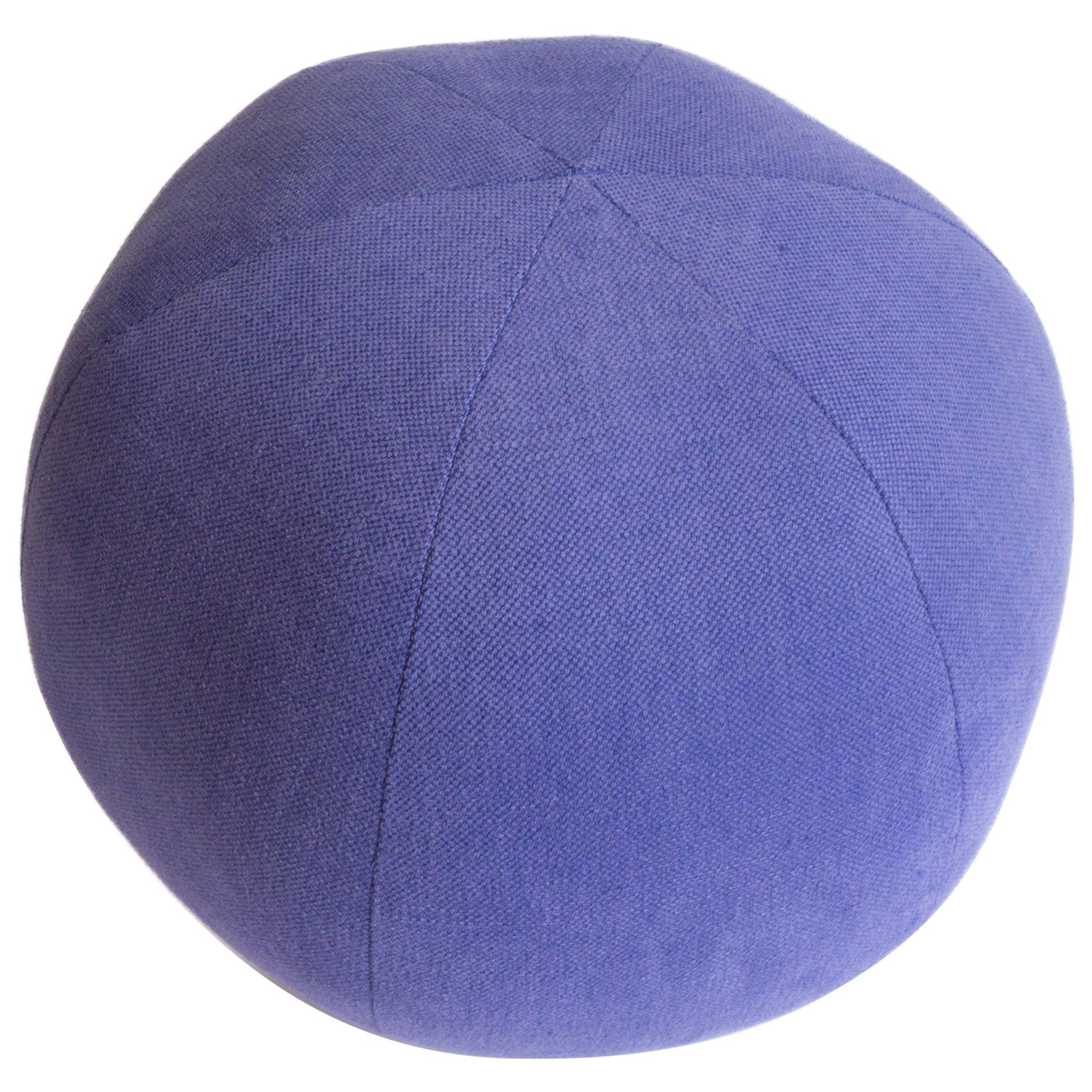 Purple Round Ball Pillow