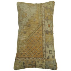 Vintage Turkish Soft Yellow Pillow
