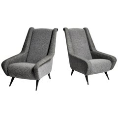 Pair of Mid-Century Modern French Chairs