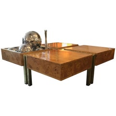 Willy Rizzo Style Coffee Table