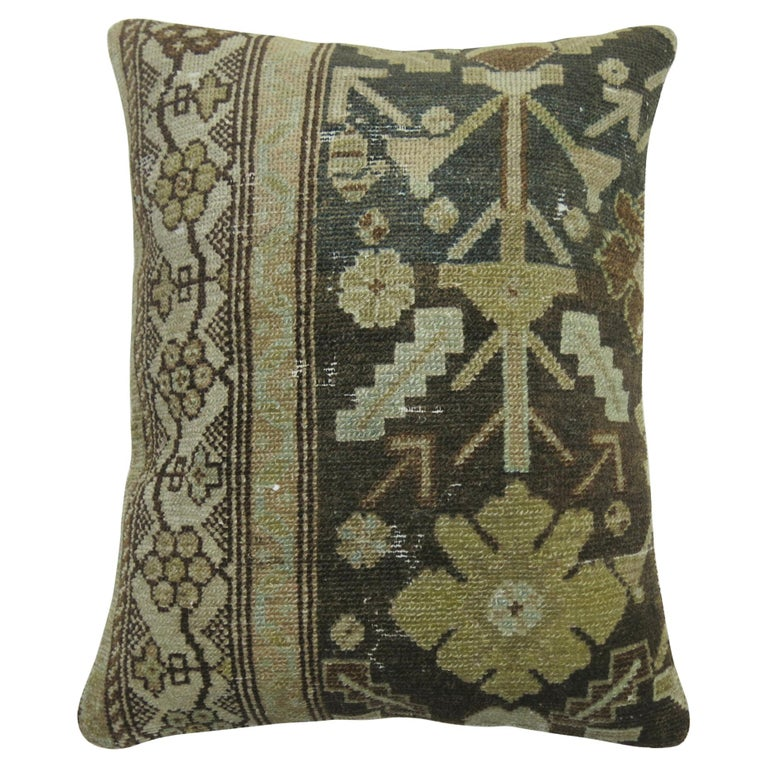 Persian Malayer Rug Pillow For Sale