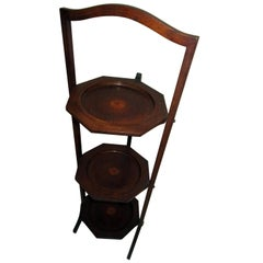 19th Century Regency Mahogany Side Table or Muffin Stand