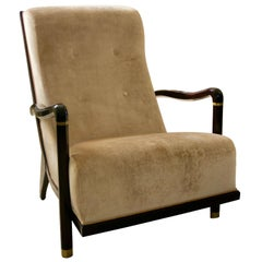 Art Deco Moderne Style Armchair