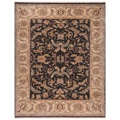 Traditional Handwoven Indian Agra Rug, 105362