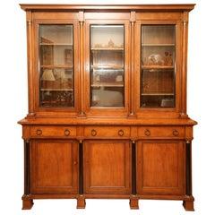 Biedermeier Style Library Cabinet by Baker