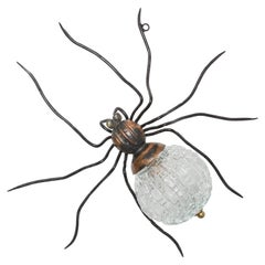 Midcentury Spider Wall-Mounted Lamp