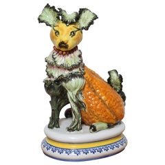 "Ceramic ""Vegetable"" Dog"
