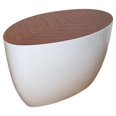 Modern Oval Cocktail or Side Table designed by Wendell Castle