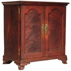 18th Century Pennsylvania Chippendale Double Door Spice Box