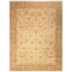 Traditioneller handgewebter indischer Agra Teppich 107680