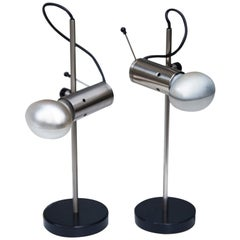 Tito Agnoli Table Lamp Model 251 for Oluce, Italy, 1950, Set of 2