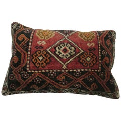 Anatolian Turkish Tribal Rug Pillow