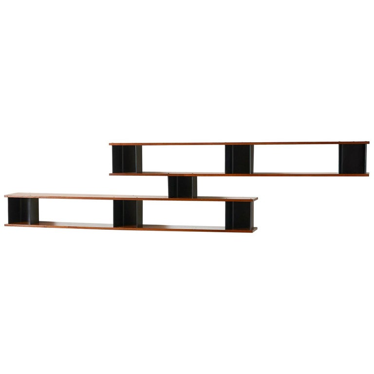 """""""Nuage"""" Wall Shelf by Charlotte Perriand For Sale"""