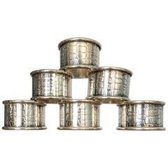 Ralph Lauren-Style Snake Napkin Rings, Set of 6