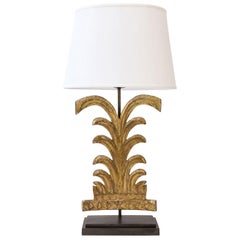 Gilded Custom Table Lamp