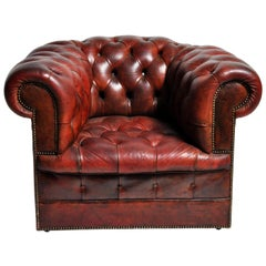 Chesterfield Chair on Casters