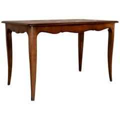 Tisch mit Parkettarbeit Oberfläche, spätes 19. Jahrhundert