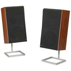 Pair of Vintage Bang & Olufsen Beovox S75 Speakers