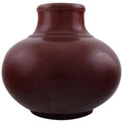 Patrick Nordstrøm/Carl Halier Stoneware Vase for Royal Copenhagen, circa 1920s