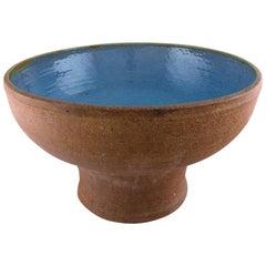 Helle Alpass, Huge Stoneware Floor Vase, 1968