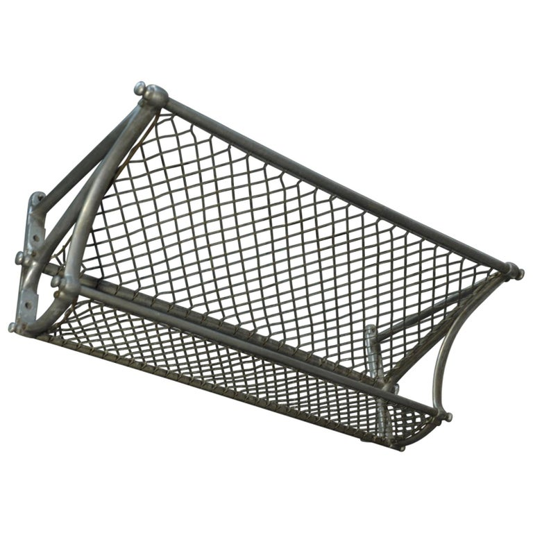 SNCF French Rail Way Luggage Rack, 1950 For Sale