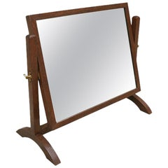 French Antique Table Mirror, circa 1950