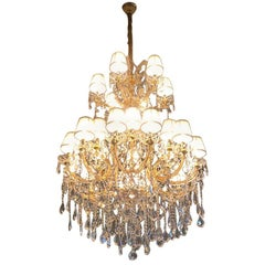 "Crystal Chandelier ""Maria Theresia"" with Swarovski Crystals"