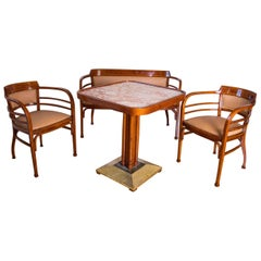 Wien Secession Thonet Coffee Set Attributed to Otto Wagner Designer