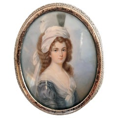 Miniature Portrait of a Lady, 1820s