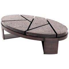 Aurora Coffee Table - Cracked Earth - Size II