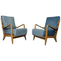 Armchairs by Gio Ponti, 1950
