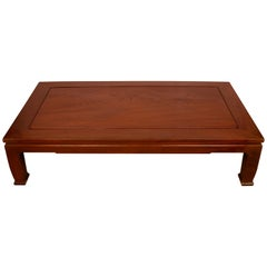 Modern Chinese Rosewood Cocktail Table