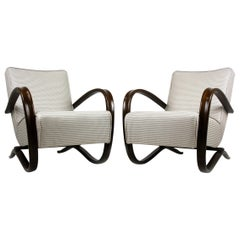 H-269 Armchairs by Jindrich Halabala, 1930s, Set of Two