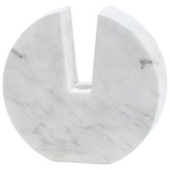 "Contemporary Handcrafted Candle Holder ""Τhryallis"" in Marble, 1stdibs New York"