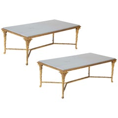 Pair of Bronze Maison Charles Coffee Tables