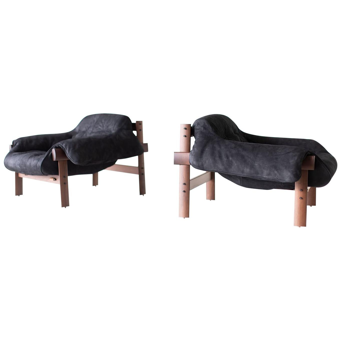 Percival Lafer MP-41 Lounge Chairs for Craft Associates