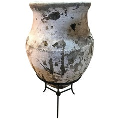 Outstanding Large Scale Spanish Olive Jar