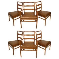 Robsjohn Gibbings for Widdicomb Set Of Chairs