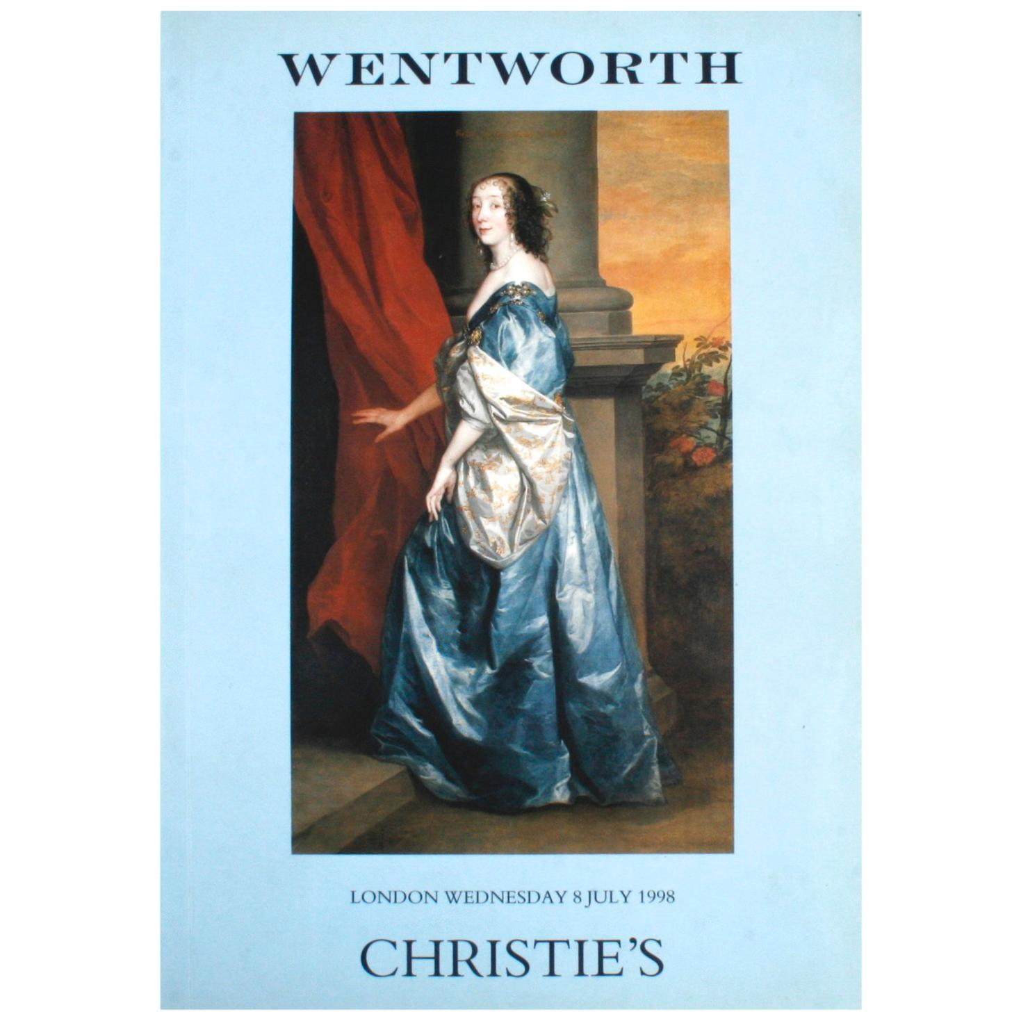 Christie's London, the Wentworth Library