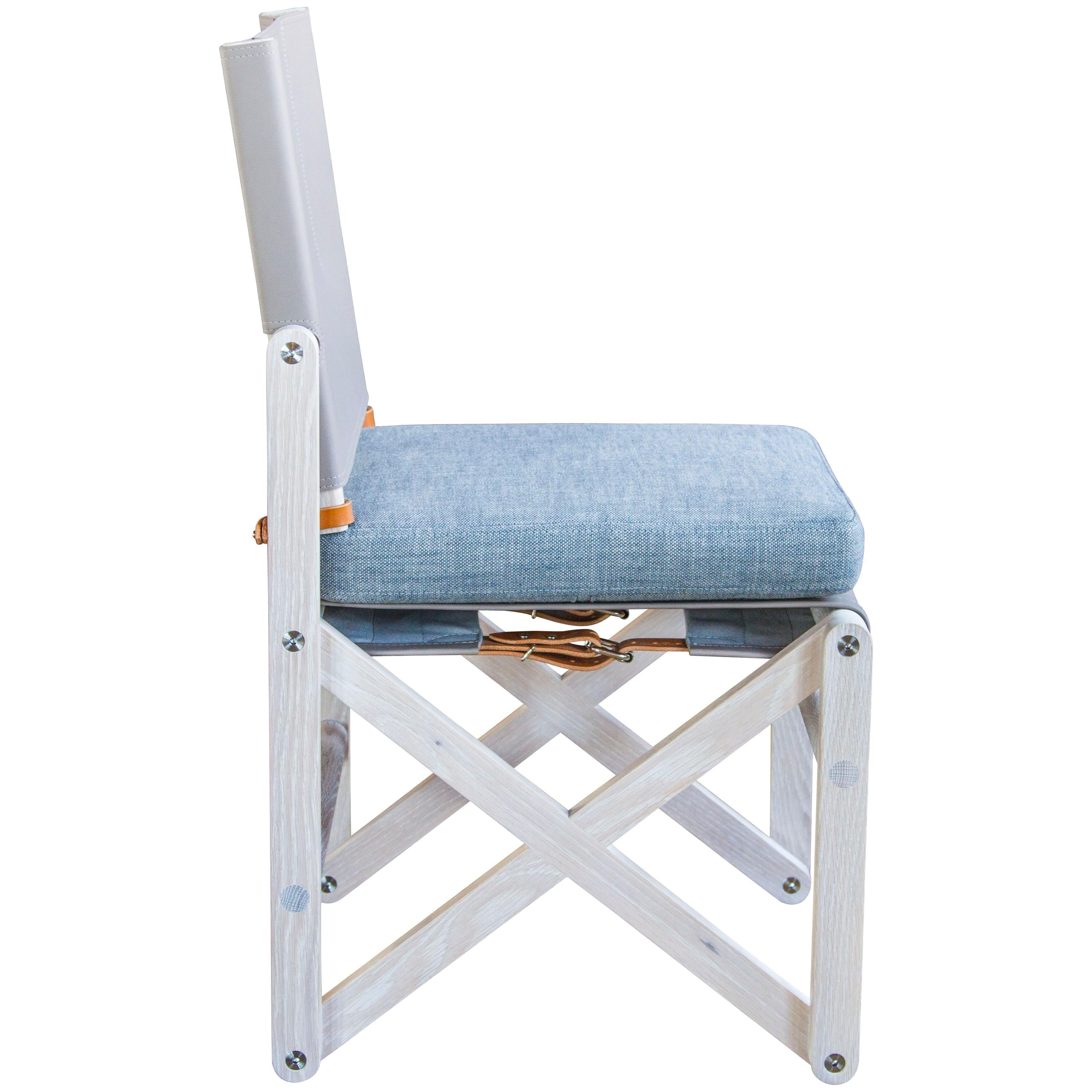 MacLaren Dining Chair 02 in White Oak - handcrafted by Richard Wrightman Design