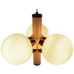 MidCentury chandelier Sputnik, Kamenicky Senov, 1970s.