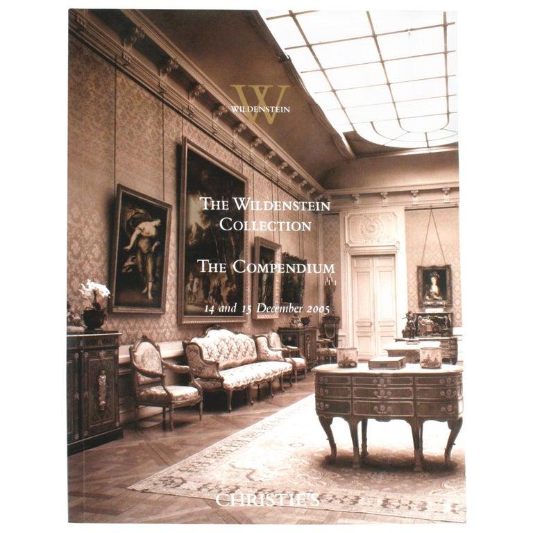 """Christie's, The Wildenstein Collection, December 2005"" Book For Sale"